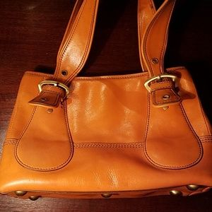 Maxx New York brand leather handbag